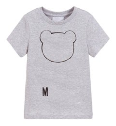 Wholesale Kids Designer T Shirts Boys Girls Luxury Letter Printed Tee Tops Children Brand Breathable Unisex T-shirts Girls Tshirts Boys Clothes