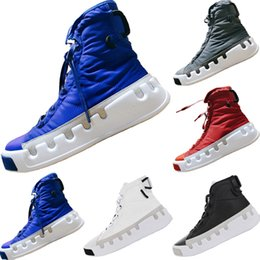 a6058b66f5ffb With Box 2019 Skydiving Theme Y3 Genuine Nylon High Top Basketball Boots  19ss Skydiving Theme Y3 Kasabaru Mix Rubber Sports Shoes