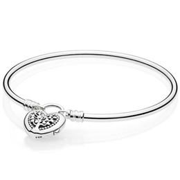 $enCountryForm.capitalKeyWord Australia - Original MOMENTS Tree of Life Love Heart padlock Clasp Bangle Bracelet Fit 925 Sterling Silver Bead Charm DIY Europe Jewelry