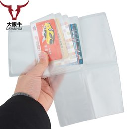 Transparent Cards Australia - Inside Pages For Russian Driver License Holder Semi Transparent Folded Film Documents Pockets Business ID Card Case