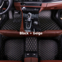 Audi A8l Australia - Suitable for Audi A8   A8L 2006-2018 car anti-slip mat PU interior pad surrounded by environmentally friendly non-toxic mat