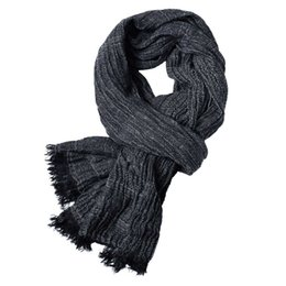 $enCountryForm.capitalKeyWord Australia - Men's luxury scarf wholesale various color cotton designer scarf size 200*80CM popular solid color plain scarf