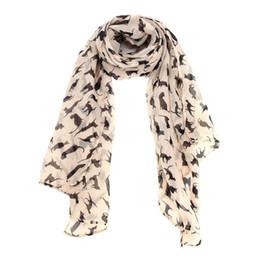Design Shawl Chiffon UK - silk scarves Fashion Design New Creative Pattern Women Chiffon Wrap Lady Shawl Chiffon Scarf Scarves 2018 Winter Scarf Women
