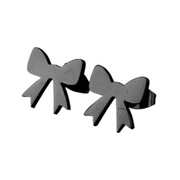 $enCountryForm.capitalKeyWord UK - Mini Love Heart Bow Knot Stud Earrings for Women Girls 4 colors u choose