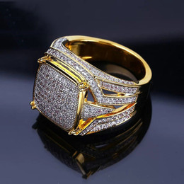 China 18K Yellow Gold Filled Natural Gemsstone White Sapphire Diamond CZ Ring Wedding Proposal Bride Men Ring Brand Jewelry Size 5-12 suppliers