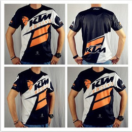 Mx Motocross online shopping - New Arrival Men s Casual KTM Motorcycle T Shirt Jersey Short Sleeve Airline Jersey Motocross DH Downhill MX MTB Breathable Off Road XXL