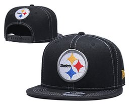 fallen hats Australia - Men's Steelers All Teams Baseball Cap Brand Fan's Sport Adjustable Caps Casual leisure hats Solid Color Fashion Snapback Summer Fall hats