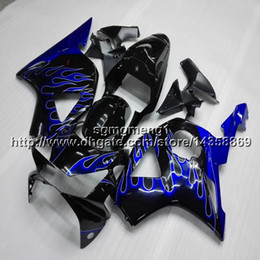 $enCountryForm.capitalKeyWord NZ - 23colors+Screws blue flames motorcycle article for HONDA CBR954RR 2002 2003 CBR 954 RR 02 03 ABS Plastic Fairing