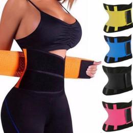 10d5722ba05 Body Shaper Slimming Wrap Belt Waist Trainer Cincher Corset Fitness Sweat  Belt Girdle Shapewear Plus Size Women Mens Fajas Sauna