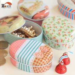 Cable Shoes Australia - CUSHAWFAMILY mini European Soap box shape candy storage box wedding favor tin box zakka cable organizer container
