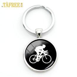 boys bike bicycle cycle 2019 - TAFREE casual sports cyclist keychain minimalist cycling silhouette art key chain bicycle bike sportsmen gifts jewelry K