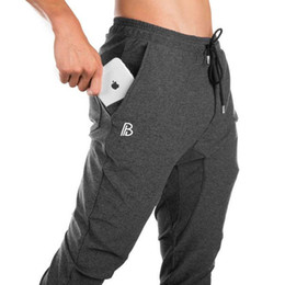 Tracking Workouts Australia - Gyms Mens Joggers Sweatpants Casual Track Pants Fitness Sportswear Men's Workout Bodybuilding Jogger Long Pants Skinny Trousers