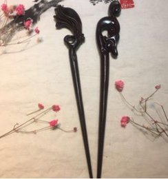 $enCountryForm.capitalKeyWord Australia - New High-quality Ebony Woody Hairpin Hair Decoration Restoring Ancient National Style Ebony Hairpin Tourist Attractions Selling Hairpins