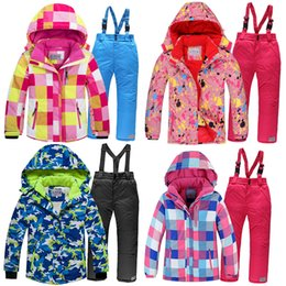$enCountryForm.capitalKeyWord Australia - 2019 Winter Set for Boy Fleece Hood Warm Girls Skiing Suits Windproof Sport Children Outfits Clothes Kids Snow Suits Tracksuit