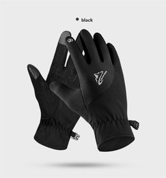 41c572c57644e Black spandex gloves online shopping - Outdoor Thermal Touch Screen Winter  Gloves Waterproof Running Motorcycle Men