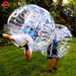$enCountryForm.capitalKeyWord Australia - 6pcs per lot commercial inflatable bubble ball for football match durable human size body bumper ball inflatable soccer bubble balls game