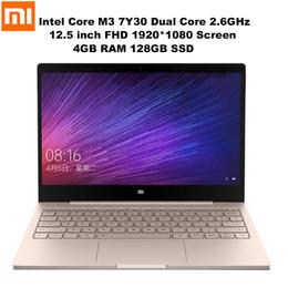 Discount dual core hdmi laptop - Xiaomi Mi Notebook Air 12.5'' FHD Screen Windows 10 Intel Core M3 7Y30 Dual Core 2.6GHz 4GB+128GB HDMI Dual Ba