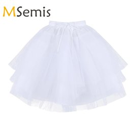 $enCountryForm.capitalKeyWord UK - Kids Girls Ballet Petticoat 3 Layers Net Petticoat Underskirt Crinoline Slip for Flower Girls Wedding Dress Ballet Dress