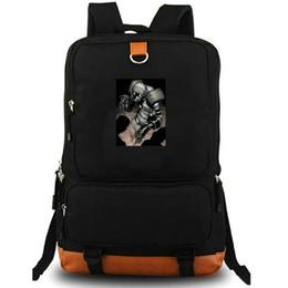 Backpack Canvas Bag Laptop UK - Ghost daypack Super hero school bag John Morley photo backpack Canvas laptop schoolbag Outdoor rucksack Sport day pack