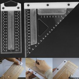 $enCountryForm.capitalKeyWord NZ - 140 155mm Scale Measure Scribing Ruler Hole Scribing Gauge Squares Precision Cross-calibration Ruler Woodworking Measuring Tool