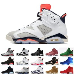 b3cfb855323 2019 Bred VI 6 6s Mens Basketball Shoes Infrared 23 3M Reflective Bugs  Bunny Tinker Black Cat Men Sport Sneakers Designer Trainers Size 7-13