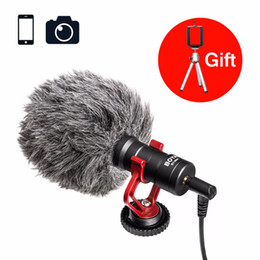 film camera dslr Australia - Film Tool BOYA BY-MM1 Shotgun Microphone Video Interview Mic for Smooth Q  Nikon DSLR Camera iPhone 7 6 Andriod Smartphone