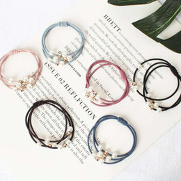 Indian Hair Rubber Bands Australia - Wild pearl rubber band hair ring wholesale jewelry Korean bead hair ring
