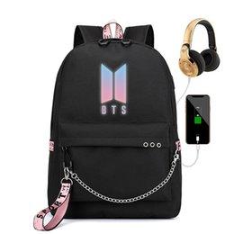 Got7 Mochila Bts Bt21 School Tassen Rucksack Frau College Bookbag Leather Bagpacks For Girls Shoulder Bag Women Casual Backpacks Backpacks