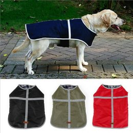 Large white dogs online shopping - Waterproof Reversible Dog Jacket Fashion Warm Winter Dog Coats Pet Clothes Elastic Small to Large Dog Clothes Winter Clothes MMA1285