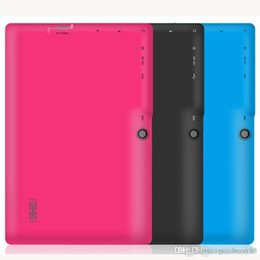 epad tablet inch android Australia - 10X 7 inch Capacitive Allwinner A33 Quad Core Android 4.4 dual camera Tablet PC 8GB RAM 512MB ROM WiFi EPAD Youtube Facebook Google DHL