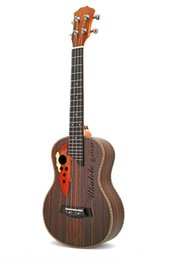 26 inches ukulele online shopping - special inch ukulele small guitar grape hole rosewood beginner entry practice musical instrument
