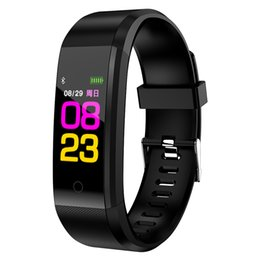 Rubber Sleep Australia - B05 smart bracelet heart rate sleep monitoring sports health fitness men and women bracelets Android IOS