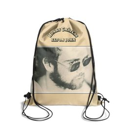 $enCountryForm.capitalKeyWord Australia - Drawstring Sports Backpack Elton John Honky Chateau album cute adjustable sack pouch Pull String Backpack