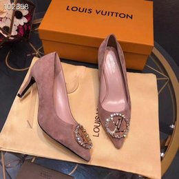1a478f23a29a Candies Shoes Australia - 18ss 2019 New Soft Leather Shallow Fashion  Women s High Heels Shoes Candy