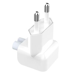 $enCountryForm.capitalKeyWord Australia - Wall AC Electrical Euro EU Plug Duck Head Power Adapter for Apple iPad iPhone USB Charger MacBook