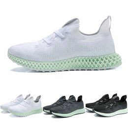 a3040236a New 2019 Mens Casual Shoes Release Futurecraft AlphaEdge 4D LTD Aero Ash  Green Core Black Running Shoes Men Authentic Sneakers