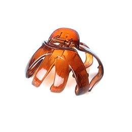 Discount hair clamps plastic - New Fashion Girls Hairpin Hair Crab Clamp Claw Plastic Hair Clips for Women Barrettes for Women Accessories 686
