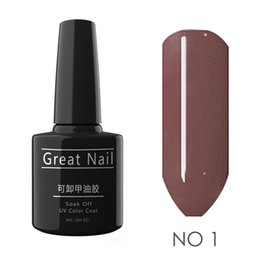 glitter glue NZ - New Nail Art Glue UV Gel 8ml Long Glitter Home, Store Lasting Removable 8ml 0.27oz Liquid Nail Polish