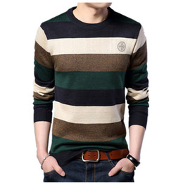 $enCountryForm.capitalKeyWord NZ - FGKKS Striped Sweater Mens Fashion Brand 2018 Winter Male Sweater Slim Fit Knitting Men Sweaters Pullovers Top