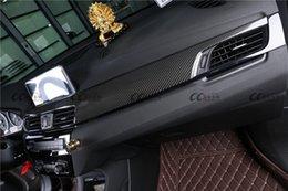 Interior em fibra de carbono para BMW X1 F49 Revestimento do espelho retrovisor Painel de instrumentos venda por atacado