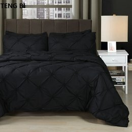$enCountryForm.capitalKeyWord Australia - New European and American fashion simple style home textile black white gray solid color bedding set Queen King 3PCS bedding