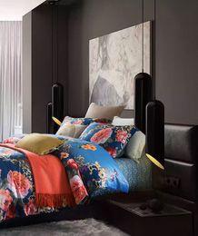 $enCountryForm.capitalKeyWord Australia - Sheng tao Sha Home textiles European Style Luxury Tencel Silk Flower Bedding sets Queen King Size Duvet cover Skirt Pillowcases