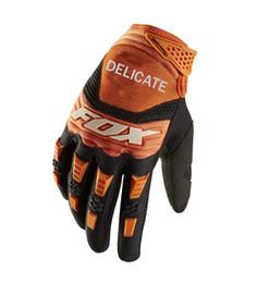 $enCountryForm.capitalKeyWord Australia - Delicate Fox Motocross MTB Bike Riding Motorcycle Mountain Bicycle Gloves Mens