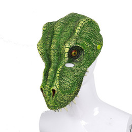 $enCountryForm.capitalKeyWord UK - Cospty Free Shipping Los Reyes Magos Cosplay Animal Maschera Soft PU Foam Masquerade Halloween Horror 3D Dinosaur mask