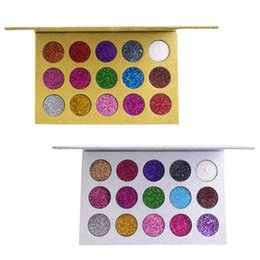 $enCountryForm.capitalKeyWord Australia - Fast Ship 15 Colors Eyeshadows Palette Diamond Shadow Plates Golden Gloss Powder Shadow Best Long Lasting Shimmer Metallic Makeup Pallete