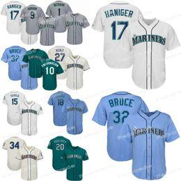 c4b9c10aee8 Seattle marinerS baSeball jerSey online shopping - Mitch Haniger Seattle  Jersey Mariners Ichiro Suzuki Domingo Santana