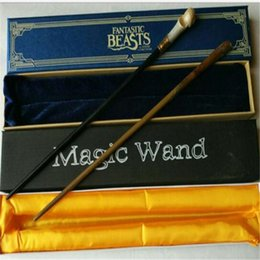 Discount beast cosplay - Fantastic Beasts And Where to Find Them New Cosplay Wand Magical Wands Cosplay Staves Wands Movie Accessories Christmas