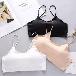 $enCountryForm.capitalKeyWord NZ - Women Solid Bras Push Up Bra Sexy Bra Top Vest Breathable Chest Pad Wearing Sports Underwear Comfortable breathable Bra #15