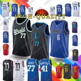 Luka 77 Doncic t shirt Kemba 15 Walker Jerseys Trae 11 Young Jersey Dirk 41  Nowitzki 21 Dominique Wilkins Top quality 2019 new 9631de6c9