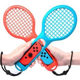 Motion Games Australia - 1 Pair 2 Pack Tennis Racket Racquet Motion Sensing Accessories for Nintendo Nintend Switch Game Mario Aces Joy-Con Controller game racket